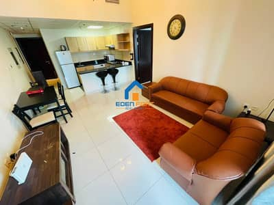 1 Bedroom Flat for Rent in Dubai Sports City, Dubai - FULLY FURNISHED 1BHK IN ELITE 05