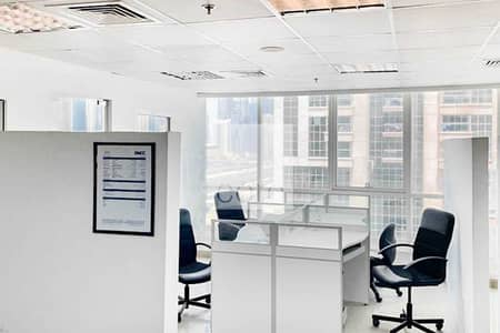 Office for Sale in Jumeirah Lake Towers (JLT), Dubai - Fitted and Furnished | Partitions | Tenanted