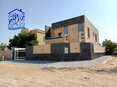 Modern villa for sale, the third piece of Sheikh Ammar Street, freehold for all nationalities