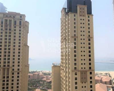 فلیٹ 3 غرف نوم للايجار في جميرا بيتش ريزيدنس، دبي - Unfurnished I 3 BED + Maids I Sea- Marina Views