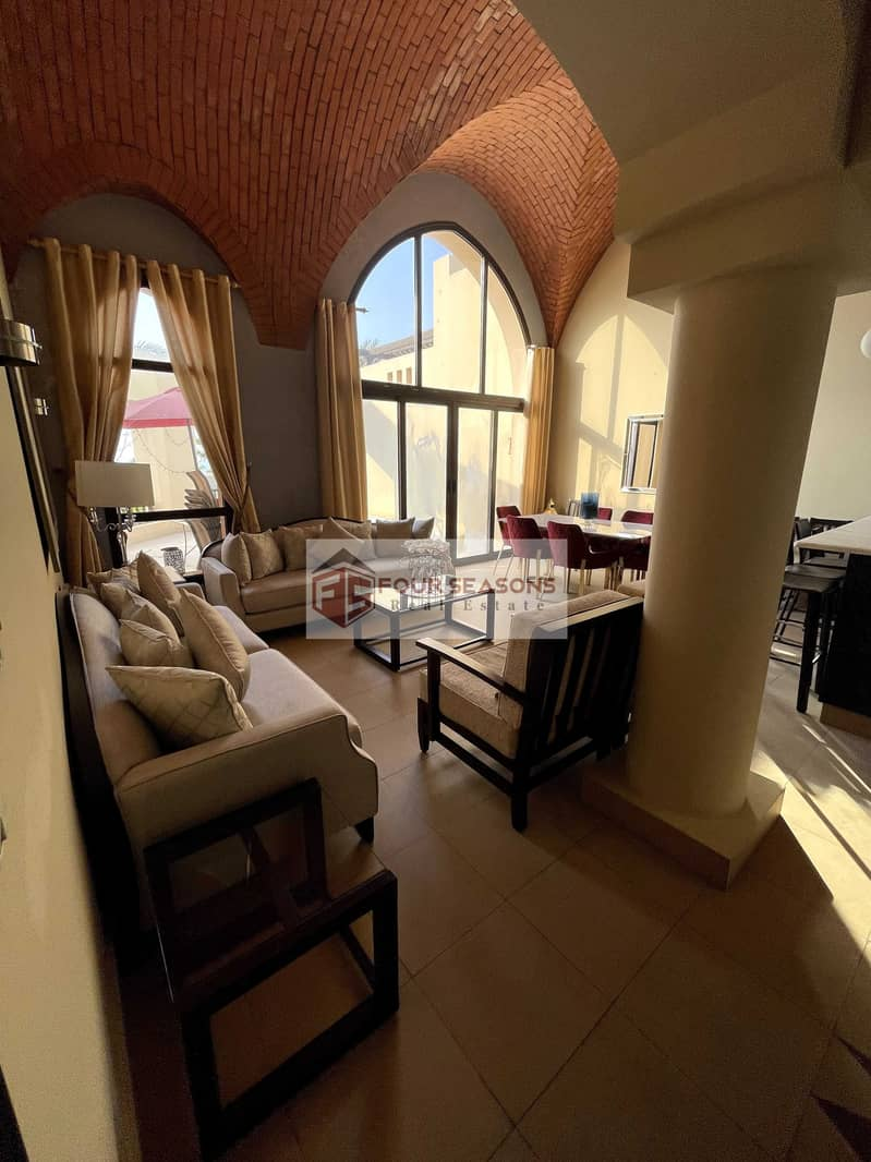 Fantastic 2BHK Villa with Private Pool - Cove Rotana
