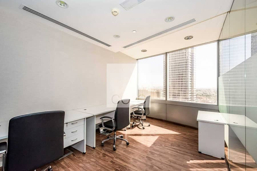 Fitted with Glass Partitions | Mid Floor