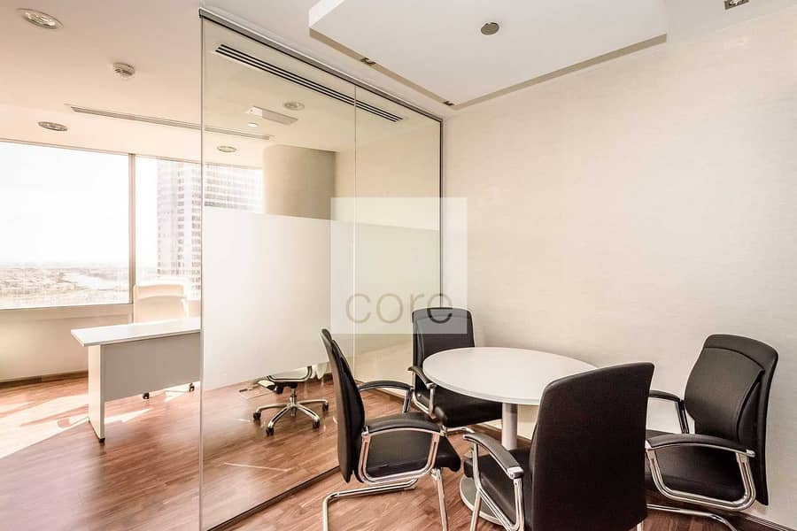 2 Fitted with Glass Partitions | Mid Floor