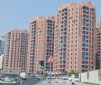 1 Bedroom Flat for Rent in Al Nuaimiya, Ajman - Big Size 1 Bedroom Hall with 2 Bathrooms in Nuaimiya Towers