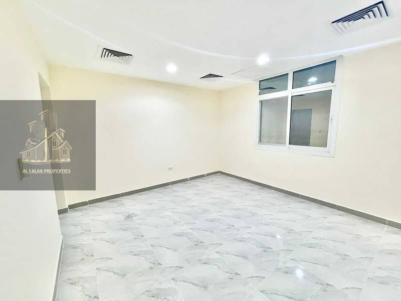 Brand new spacious studio in al Nahyan with separate kit