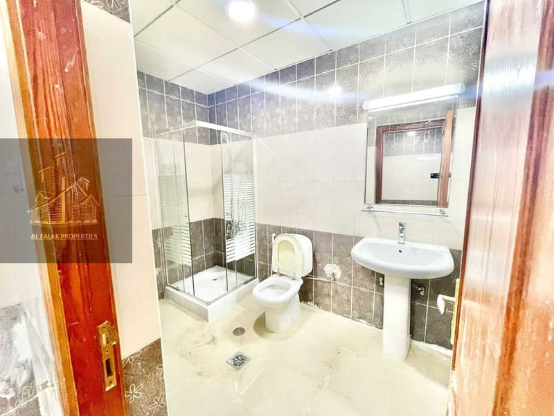 10 Brand new spacious studio in al Nahyan with separate kit