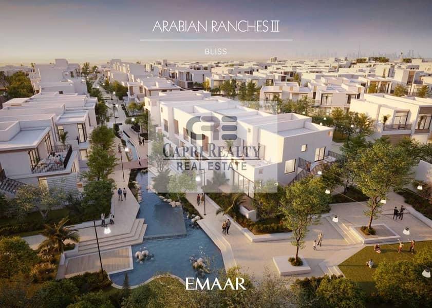 1st Greek style villas| 5 yrs payment plan by EMAAR