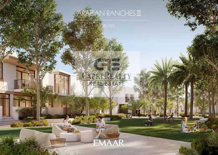 19 1st Greek style villas| 5 yrs payment plan by EMAAR