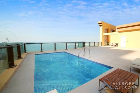 5 Bedroom Penthouse for Sale in Jumeirah Beach Residence (JBR), Dubai - Upgraded   Penthouse   Sea View   5 Beds