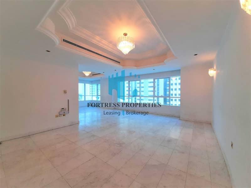 Ultimate Family Home | 3BR + Maids w/ Balcony | Near WTC Mall & Corniche Beach !!