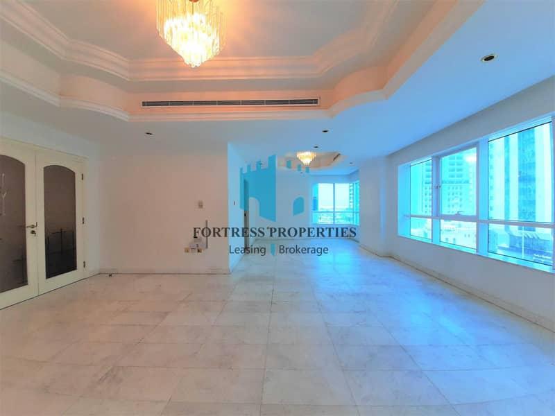 2 Ultimate Family Home | 3BR + Maids w/ Balcony | Near WTC Mall & Corniche Beach !!