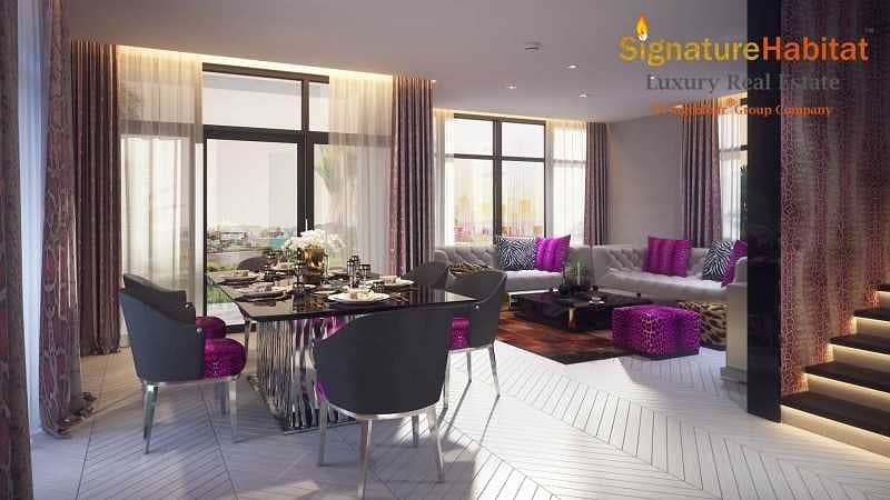 Limited Villas Rooftop Garden Interiors by Just Cavalli