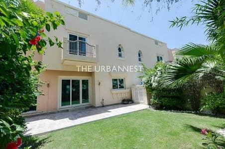 تاون هاوس 4 غرف نوم للايجار في مدينة دبي الرياضية، دبي - Type TH1   4 Bedroom    Across Pool and Gym