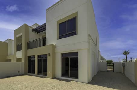 4 Bedroom Townhouse for Sale in Town Square, Dubai - Huge Layout | Type 3 | Next to park |Single Row