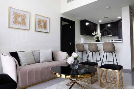 شقة 2 غرفة نوم للايجار في الخليج التجاري، دبي - Elegant| Apartment|Black Themed