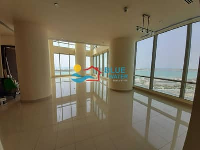 3 Bedroom Apartment for Rent in Corniche Area, Abu Dhabi - Fully Sea View  Splendid 3 BR With No Commission.