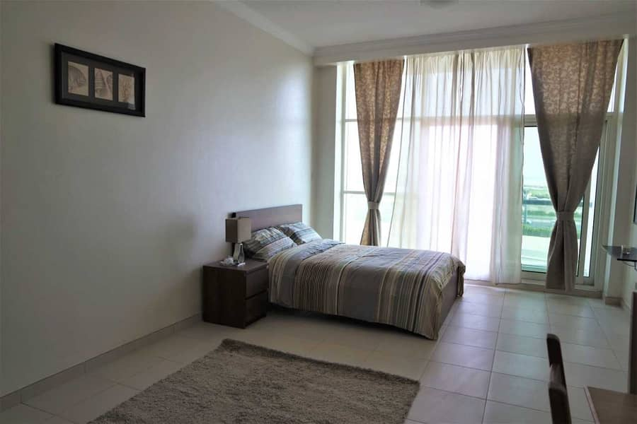 2 Well-kept   Spacious Furnished Studio with Balcony