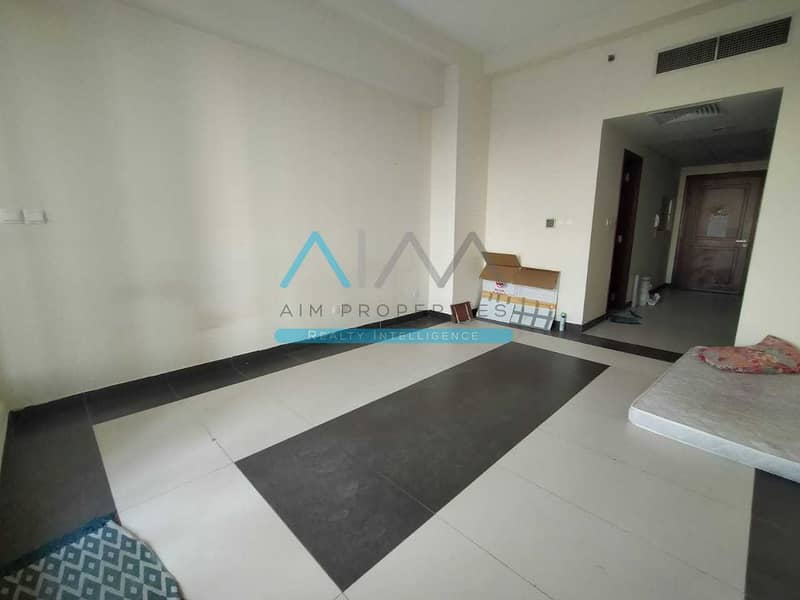 HUGE 550SQFT Studio With Balcony Behind Souq Extra Mall In Amazing Price