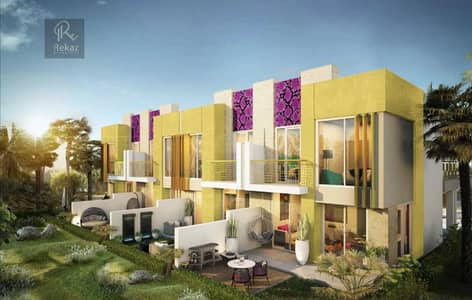 3 Bedroom Villa for Sale in DAMAC Hills 2 (Akoya Oxygen), Dubai - Live the Luxury in Just Cavalli Villas - 3 BR + Roof - Discount and Payment Plan Avail - Damac Hills 2