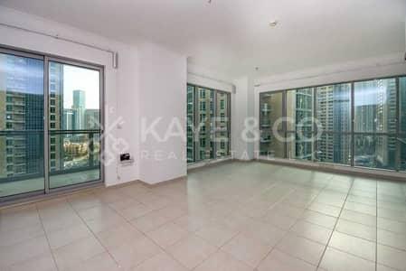 2 Bedroom Flat for Sale in Downtown Dubai, Dubai - Massive Unit   Unfurnished   Low Floor   Balcony