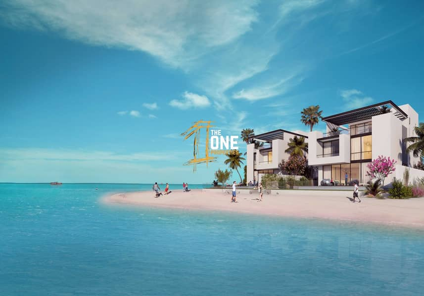 Independent Stunning  Beachfront 6 Bedrooms  Villa For Sale - Sun Island
