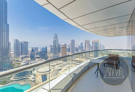 2 Bedroom Apartment for Rent in Downtown Dubai, Dubai - LUXURIOUS 2 BR |PICTURESQUE VIEW |GREATEST LAYOUT