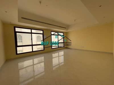 3 Bedroom Flat for Rent in Al Mushrif, Abu Dhabi - villa apartment 3 bedroom with inside parking including water electricity  85k located in al mushrif area