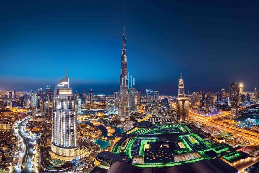 7 Burj Khalifa View | Resale | Luxurious Apartment