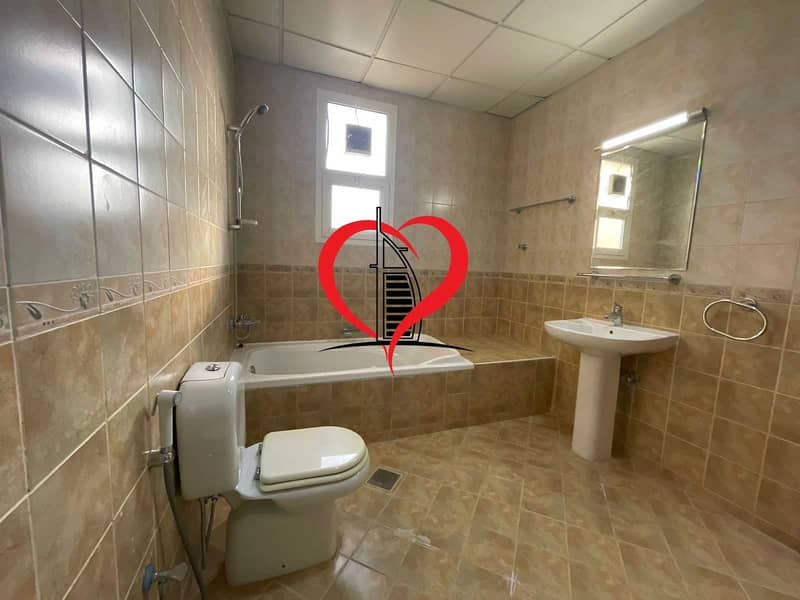 2 VILLA STUDIO WITH GOOD KITCHEN AND BATHROOM LOCATED AT AL NAHYAN.