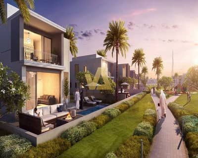 فیلا 5 غرف نوم للبيع في تلال الغاف، دبي - luxurious Villas I 5B/R + MaidsR I Community View
