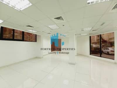 Showroom for Rent in Tourist Club Area (TCA), Abu Dhabi - SHOWROOM FACING MAIN ROAD   1,690 SQ FT / 157 SQM