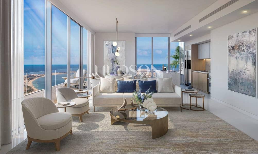 شقة في بيتش آيل إعمار الواجهة المائية دبي هاربور 2 غرف 2764888 درهم - 5383251