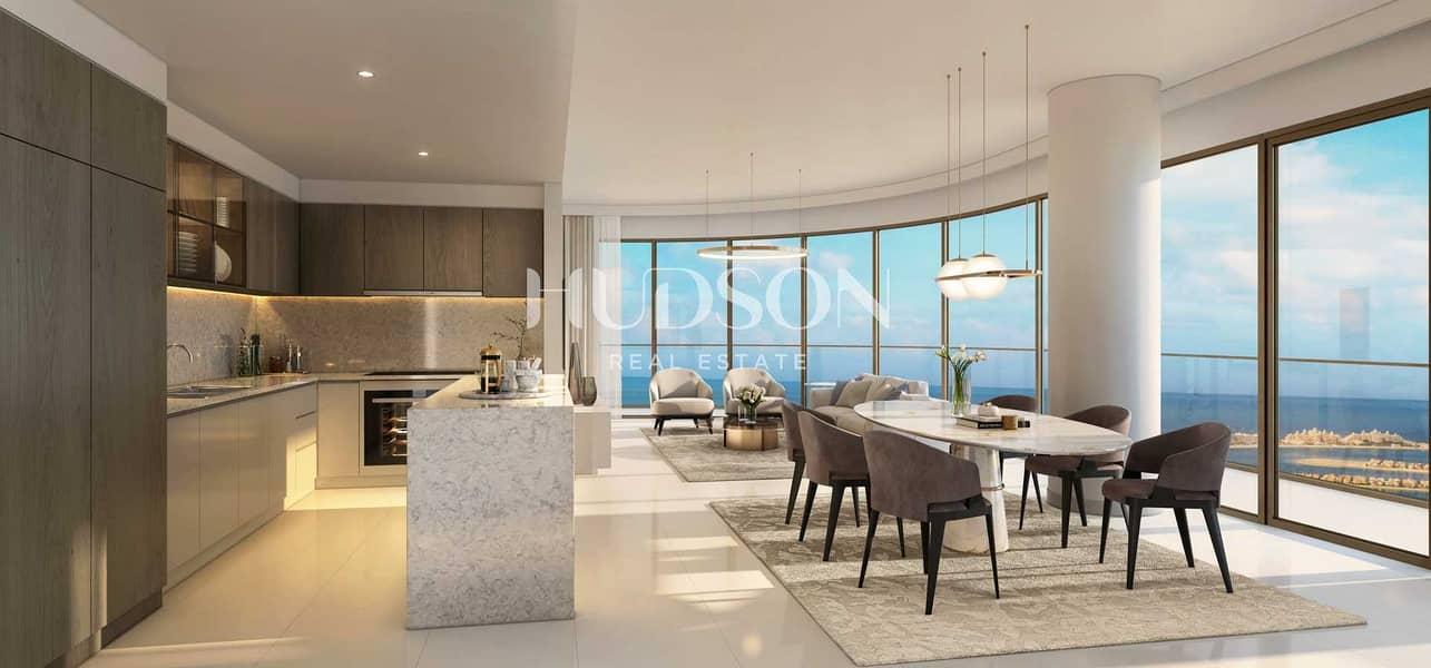 شقة في جراند بلو تاور1 لإيلي صعب إعمار الواجهة المائية دبي هاربور 2 غرف 4185888 درهم - 5388119