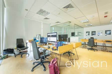 Office for Sale in Jumeirah Lake Towers (JLT), Dubai - Exclusive | Fitted & Partitioned | Lake View