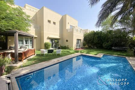 5 Bedroom Villa for Sale in The Meadows, Dubai - Rare Type | Upgraded | Vacant Soon | Pool
