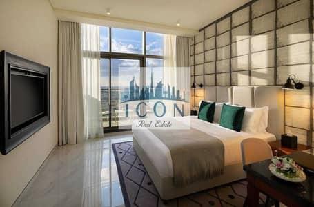 فلیٹ 1 غرفة نوم للايجار في الخليج التجاري، دبي - Burj Khalifa view 1 Bed apartment in Business Bay