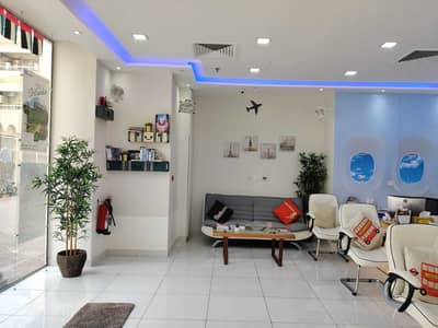 Showroom for Rent in Hamdan Street, Abu Dhabi - Spacious  space with attached bath & kitchen