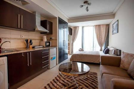 Studio for Rent in Jumeirah Lake Towers (JLT), Dubai - Bills Included| Furnished Studio Apartment in Gold Crest Views 2