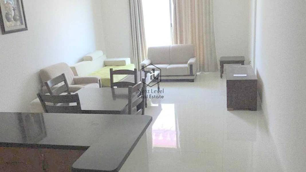 FULLY FURNISHED   1 BED ROOM   BALCONY+PARKING   ELITE 3 BUILDING   SPORTS CITY