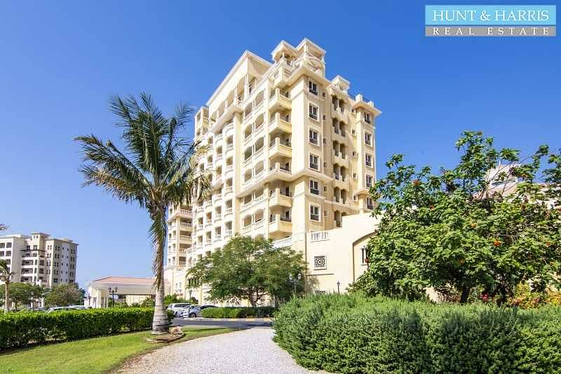 2 Bedroom Corner Unit -  Fully Furnished -  Sea View