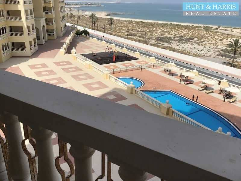 2 2 Bedroom Corner Unit -  Fully Furnished -  Sea View