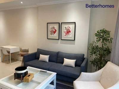 فلیٹ 1 غرفة نوم للايجار في وسط مدينة دبي، دبي - Fully Serviced | Access to Dubai Mall | Bills Incl
