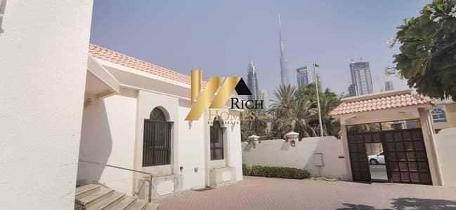 7 Bedroom Villa for Sale in Al Wasl, Dubai - Luxurious 7 Bedroom Villa (Burj Khalifa View) Dubai Alwasel Luxurious