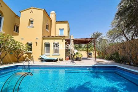 فیلا 3 غرف نوم للبيع في المرابع العربية، دبي - Fully Upgraded | Quiet Location | Private Pool