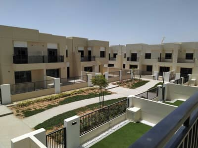 تاون هاوس 3 غرف نوم للايجار في تاون سكوير، دبي - Brand New Green Belt Opp Pool and Park | Type 1 | 3BR+M