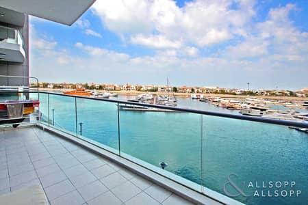شقة 2 غرفة نوم للايجار في نخلة جميرا، دبي - Two Bed | Full Marina View | Unfurnished