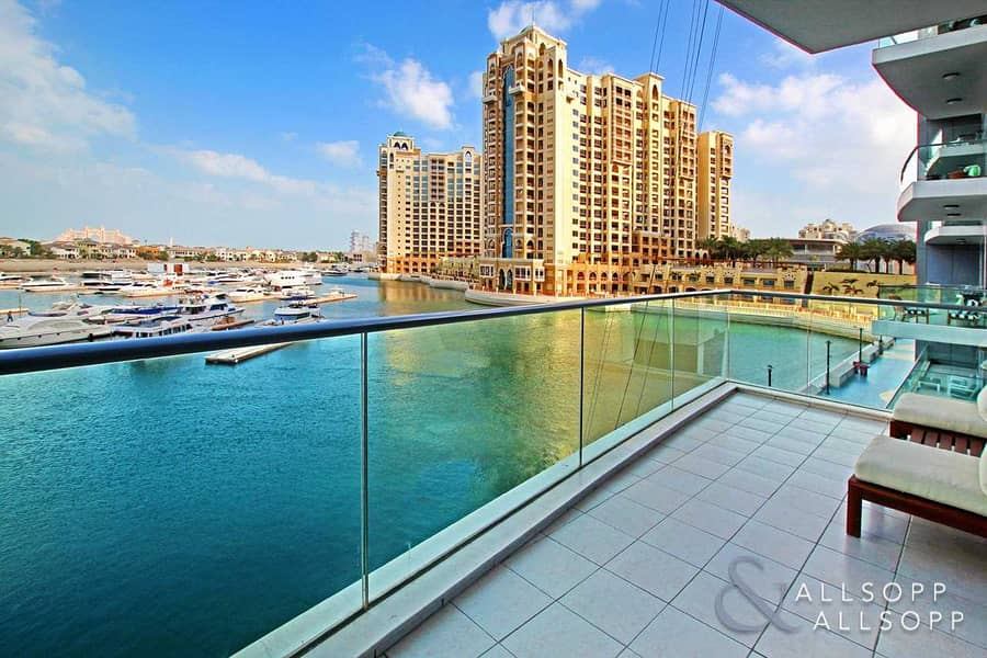 2 Two Bed | Full Marina View | Unfurnished