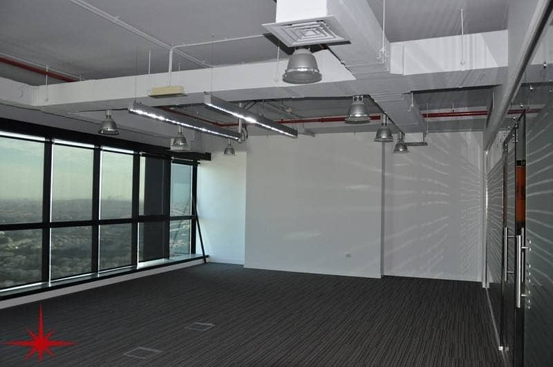 Fully Fitted Office| With Glass Partitions | FOR LEASE