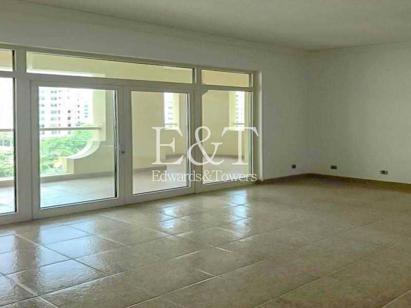 Beautiful 2 bedroom | Unfurnished E Type in Palm