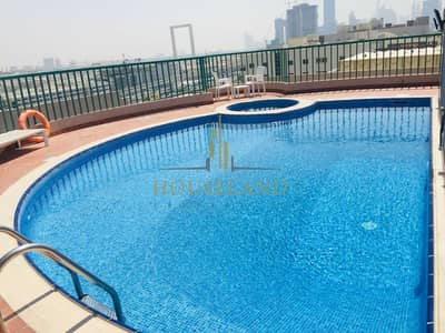 1 Bedroom Flat for Rent in Bur Dubai, Dubai - Chiller A. C Free 1BR Without Balcony Only 40K (Negotiable)  in 6 Cheques , 7 Mints Walk Burjuman Metro Station.